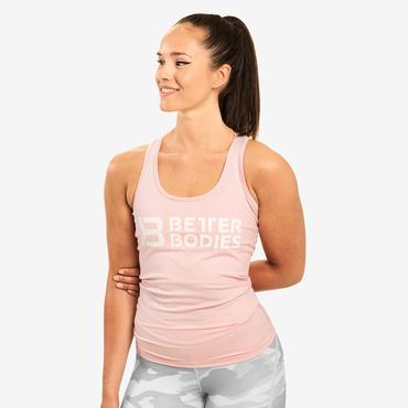 Better Bodies Tílko Chrystie T-back Pale Pink