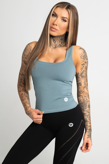 Gym Glamour Tank Top Goblin Blue