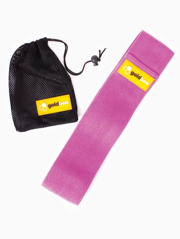 GoldBee Textilní Odporová Guma - Růžová
