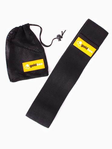 GoldBee Textilní Odporová Guma - Černá