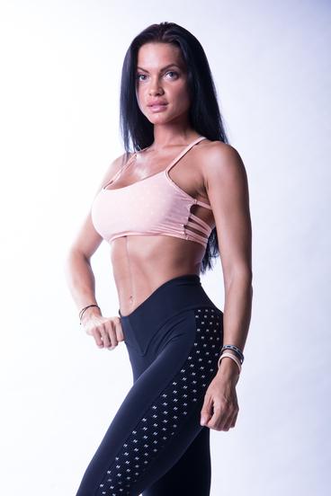 Nebbia 647 N's Fitness Podprsenka Lososová