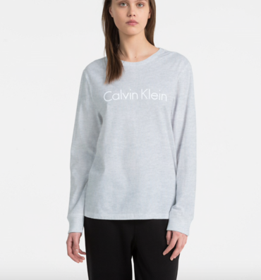 Calvin Klein Tričko Logo Grey