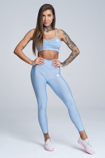 Gym Glamour Legíny High Waist Dream Blue