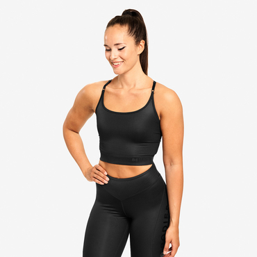 Better Bodies Top Vesey Strap Black
