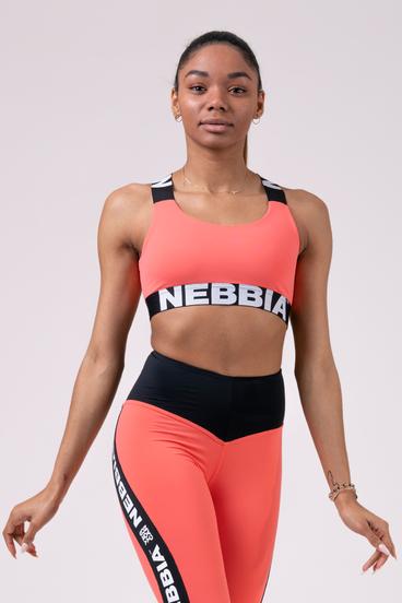 Nebbia Podprsenka 535 Power Your Hero - Peach