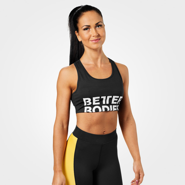 Better Bodies Podprsenka Bowery Sports Black