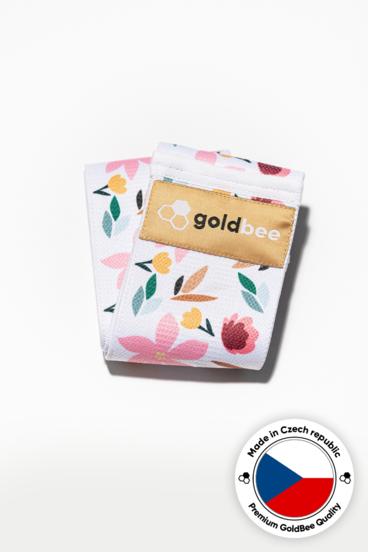 GoldBee Textilní Odporová Guma Flowers