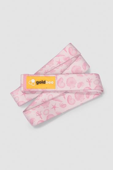 GoldBee Textilní Odporová Guma Dlouhá - Rose Sea