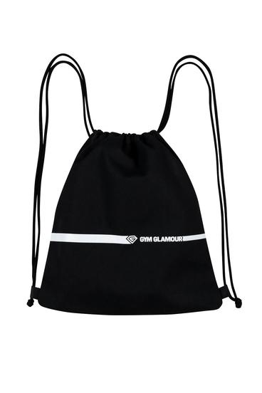 Gym Glamour Sportovní Vak - Black