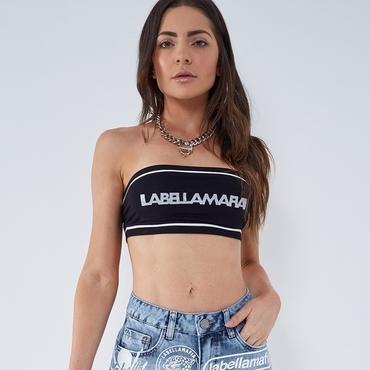 Labella Bandeau Black/White