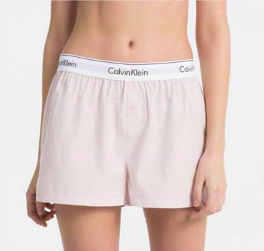 Calvin Klein PJ Shorts Pudrové