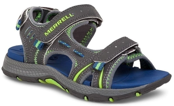 obuv merrell MY53337 PANTHER SANDAL grey/blue, 3