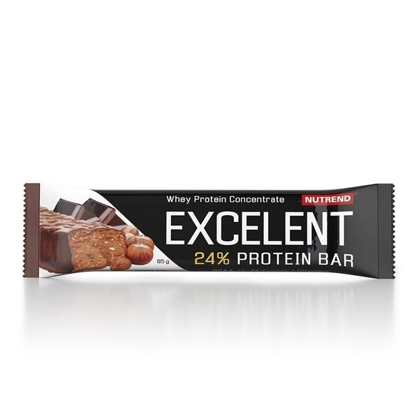 Nutrend Excelent Protein Bar Čokoláda S Oříšky 40g - 1