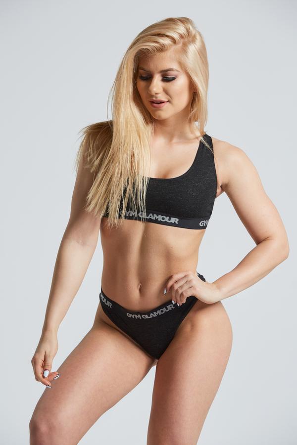Set Spodní Prádlo Gym Glamour Black, XS - 1