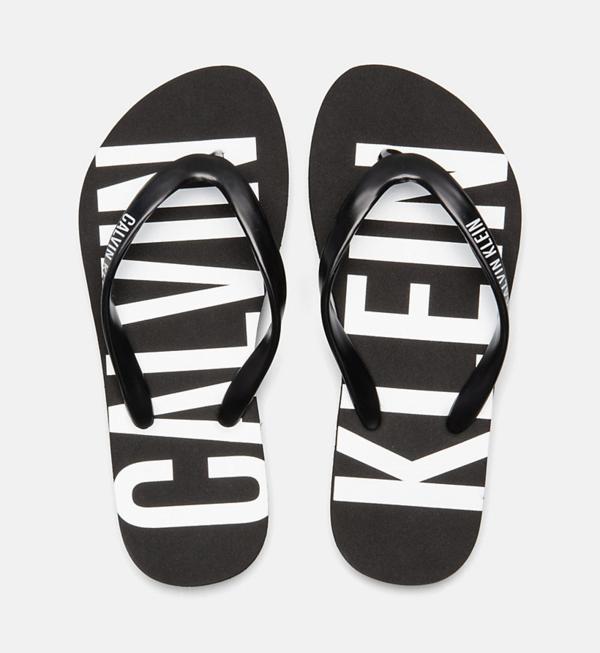 Calvin Klein Žabky Black&White - 1