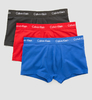Calvin Klein 3Pack Boxerky Red, Black & Blue LR - 1/4