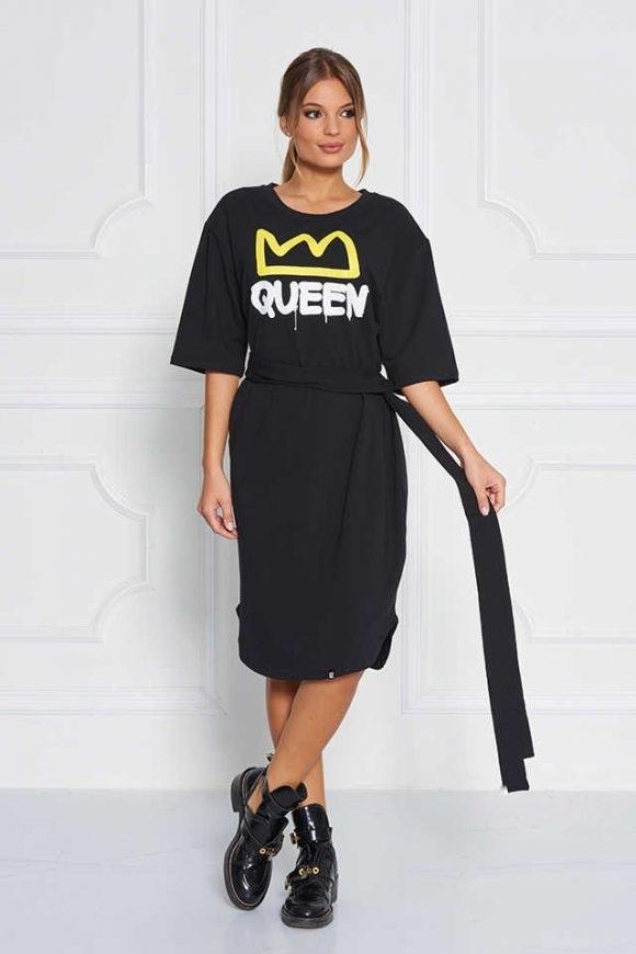 Sugarbird Šaty Black Queen - 1
