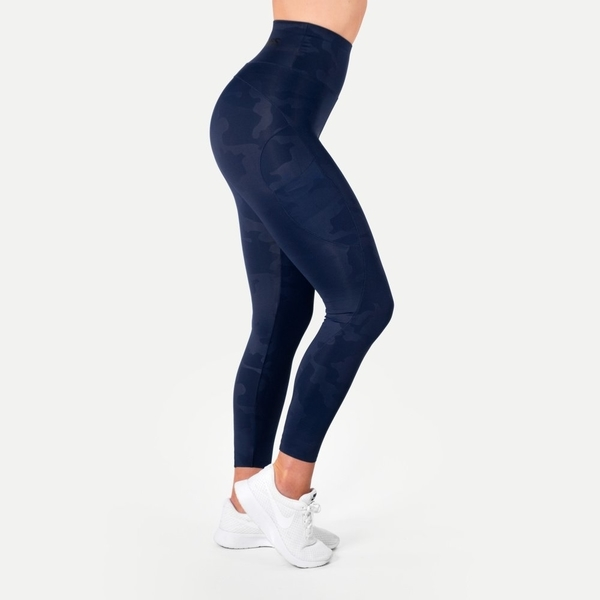 Better Bodies Legíny High Waist Dark Navy, M - 1