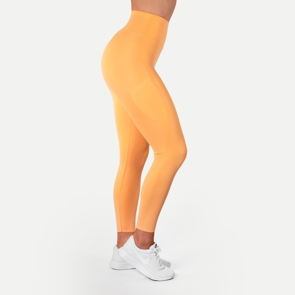 Better Bodies Legíny High Waist Light Orange, M - 1
