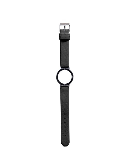 J-Watch Leather Sport Black
