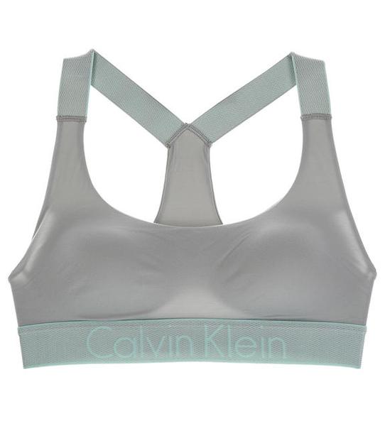Calvin Klein Podprsenka Bralette Lightly Lined Neutral Grey, M - 1