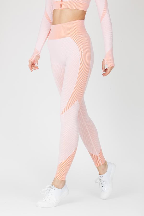 Naine 4.0. Bezešvé Legíny Curve - Pink - 1