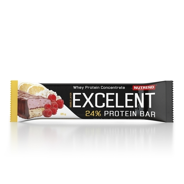 Nutrend Excelent Protein Bar Double Citronový Tvaroh A Maliny S Brusinkami 40g - 1