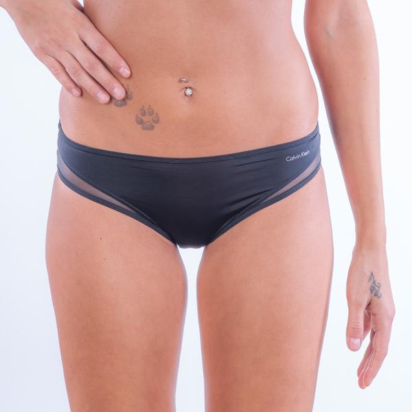 Calvin Klein Kalhotky Naked Touch Černé - 1