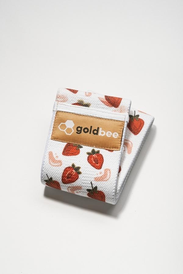 GoldBee Bavlněná Odporová Guma Strawberry, M