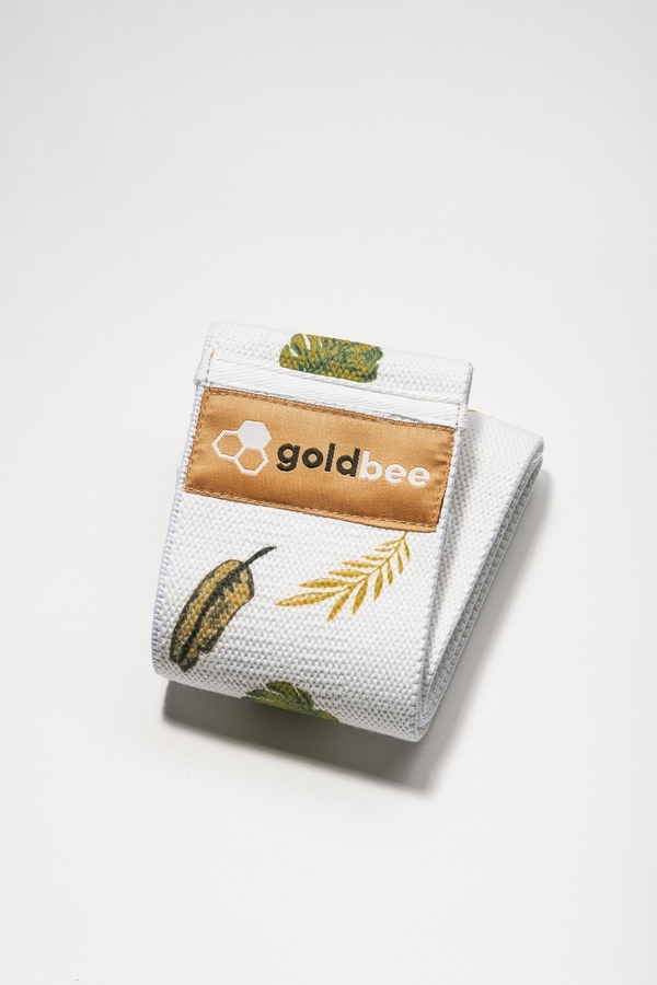 GoldBee Textilní Odporová Guma Leaves, M
