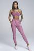 Gym Glamour Tepláky Boyfriend Dirty Pink, XS - 1/3