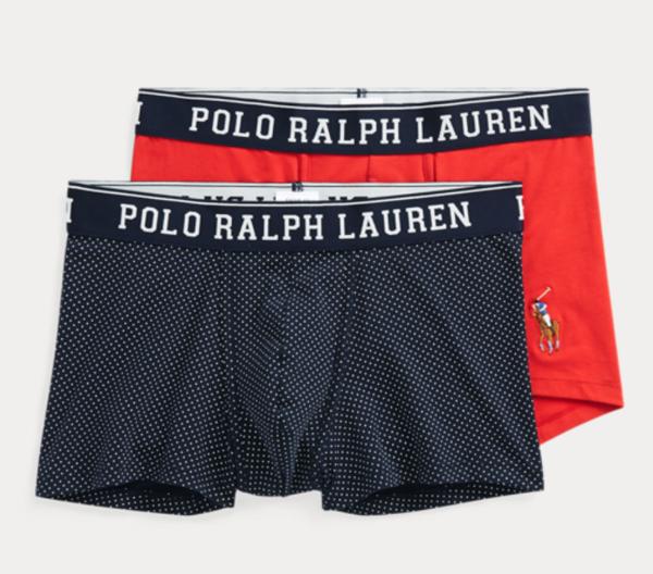Ralph Lauren 2Pack Boxerky Navy/Red, XL - 1