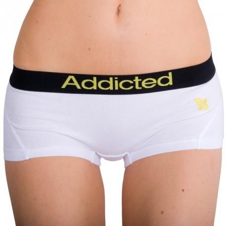 Addicted Kalhotky Bílo-Žluté, M - 1