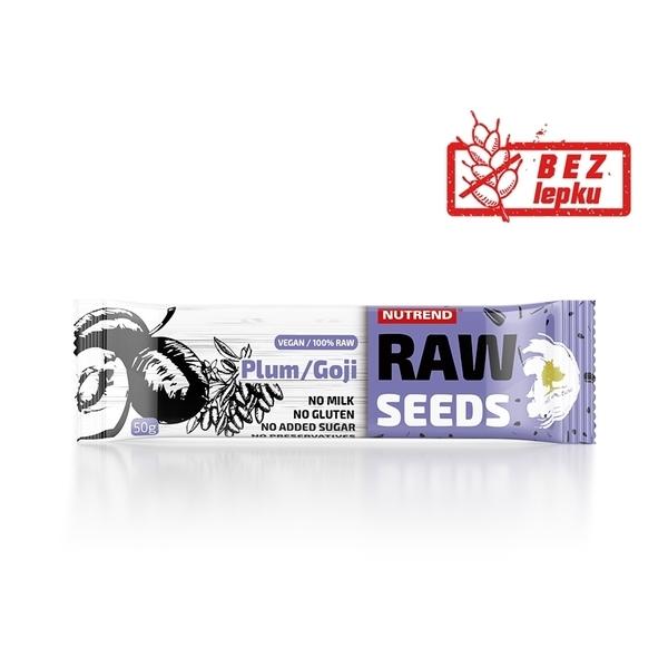 Nutrend Tyčinka Raw Seed Švestka&Goji - 1