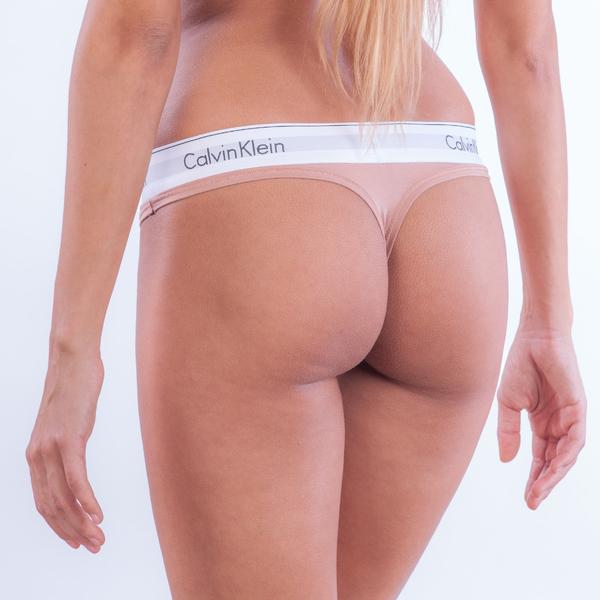 Calvin Klein Tanga Tělové - 1