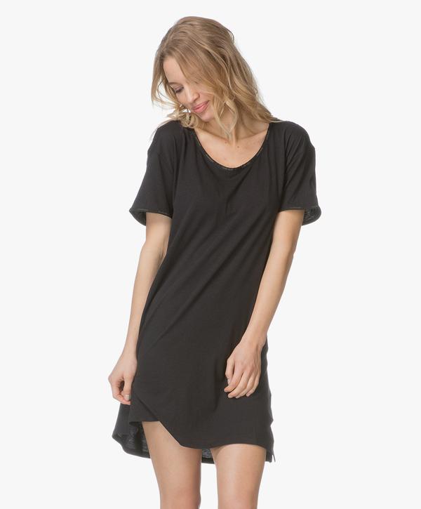 Calvin Klein Dámská Noční Basic Košilka Černá, L - 1