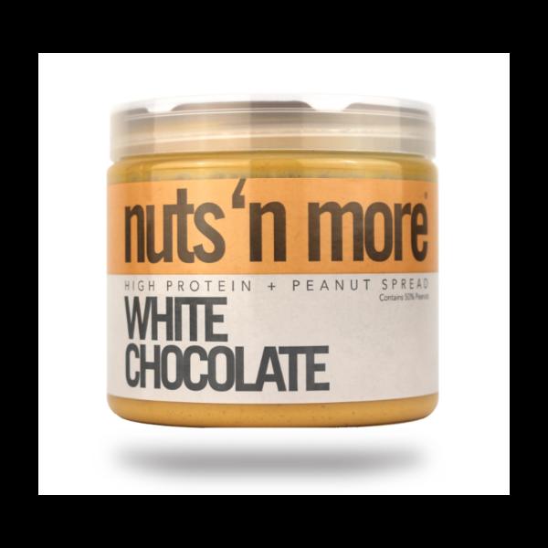 Nuts´n More Arašídové Máslo Bílá Čokoláda