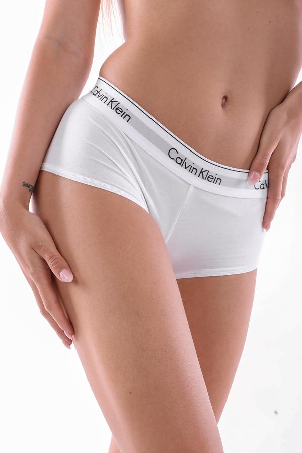 Calvin Klein Shorts Modern Cotton White, S - 1