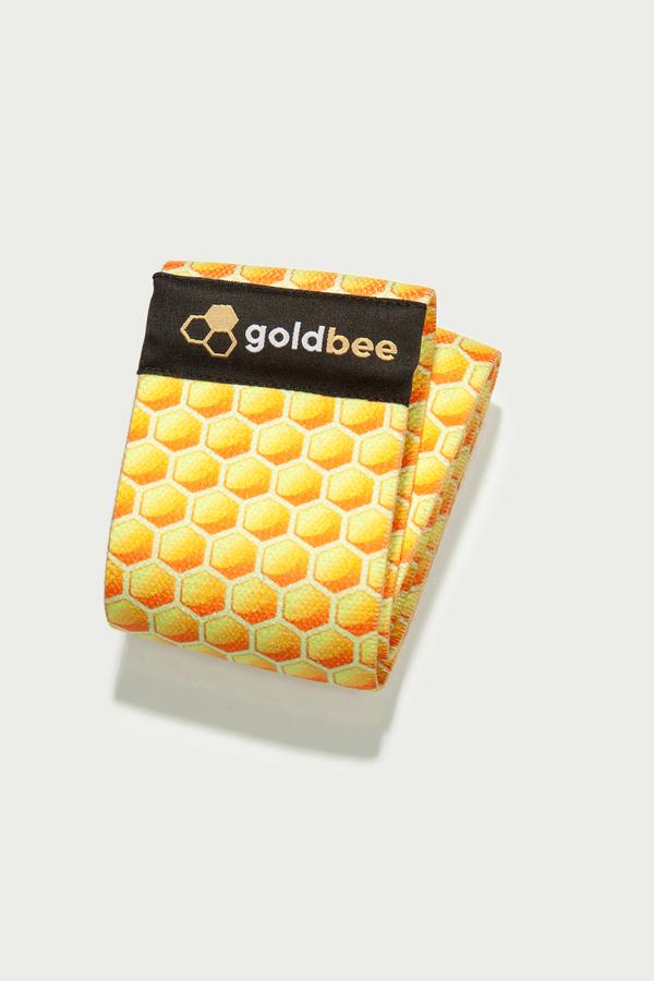 GoldBee Textilní Odporová Guma Honeycombs, S - 1