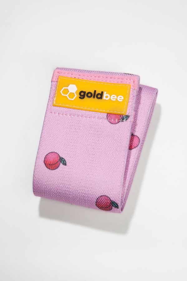 GoldBee Textilní Odporová Guma Broskvová, L - 1