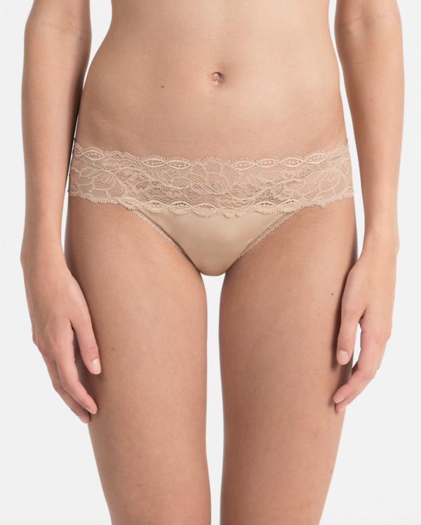 Calvin Klein Tanga Seductive Tělové, S - 1