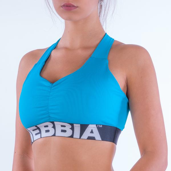 Nebbia Supplex Sportovní Podprsenka 207 Modrá, S - 1