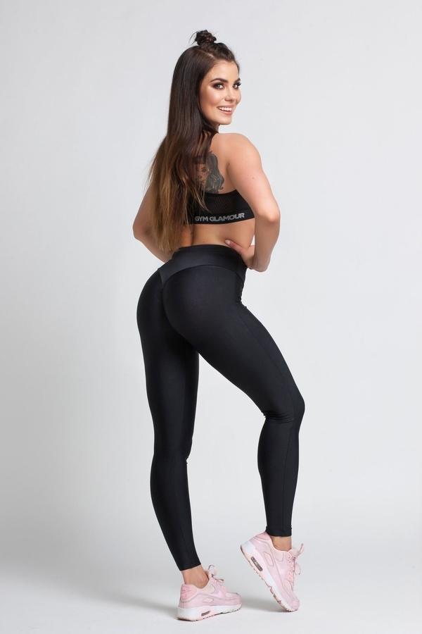 Gym Glamour Legíny Black, XS - 1