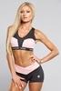Gym Glamour Kraťásky Black & Pink, M - 1/3