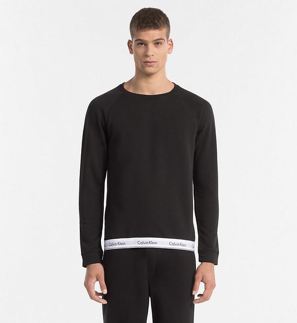 Calvin Klein Mikina Pánská Černá, L - 1