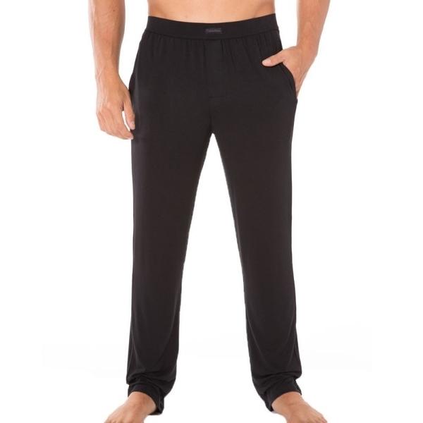 Calvin Klein Pánské Kalhoty Na Doma Černé, S - 1