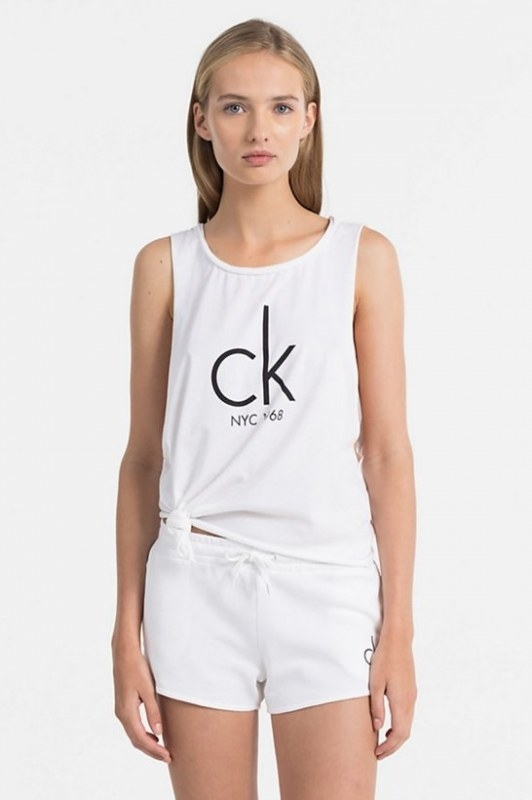 Calvin Klein Tílko NYC Bílé, S - 1