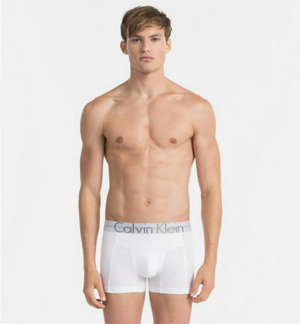 Calvin Klein Boxerky Focused Fit Bílé, L - 1