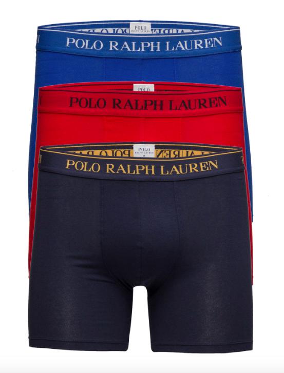 Ralph Lauren 3Pack Boxerky Navy&Blue&Red, XL - 1