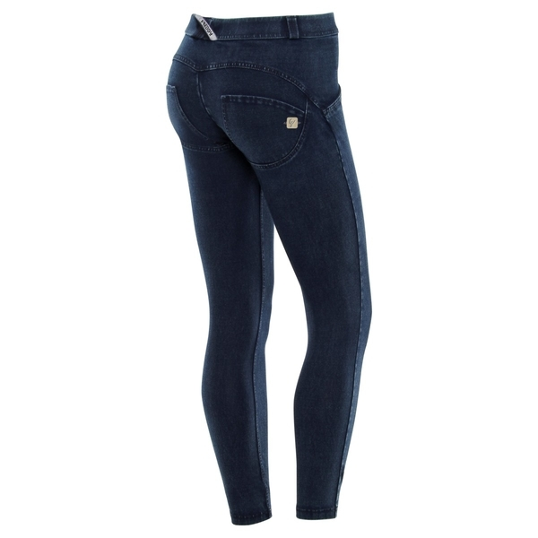 Freddy Jeans 7/8 Modré S Modrými Švy Normální Pas SS18, S - 1